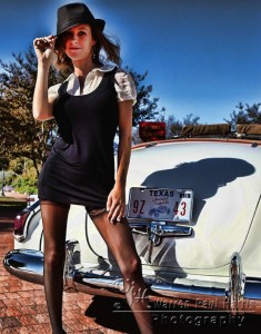 Amy and the 1951 Caddy