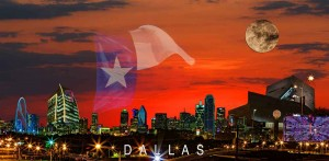 2013 Dallas Skyline