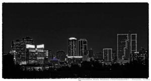 Fort Worth Skyline Violet