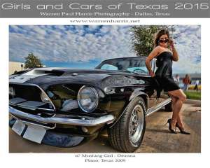 Girls and Cars of Texas Calendar-Cover