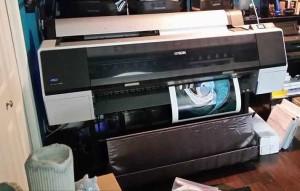 "Zeus - 44"" Epson 9900 large-format printer"