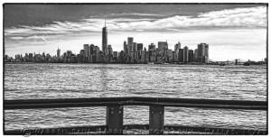 NYC Skyline from Ellis Island