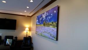 8 foot wide Northwestern Mutual Installation - Dallas