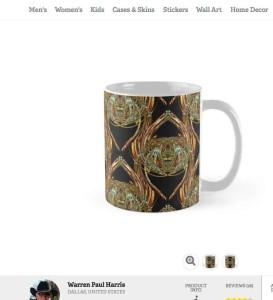 Golden Scarab Coffee Mug