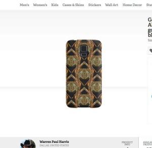 Golden-Scarab-Galaxy-Phone-Case-