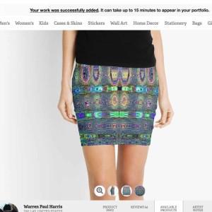 Social Distortion Pencil Skirt