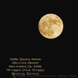 2016 Beaver Moon