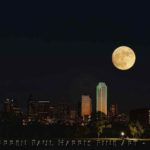 Dallas Skyline SuperMoon Composite 11-13-2016