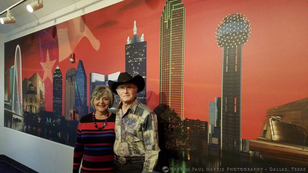 Warren and Karen and Mural