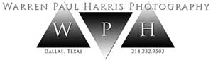 Warren Paul Harris Photography Logo
